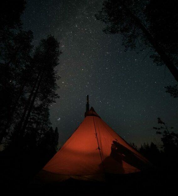 Tipi sterrennacht